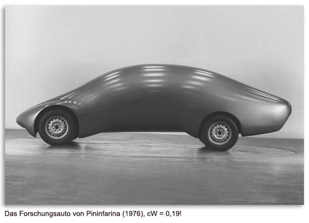 1976 Pininfarina aerodynamic concept car