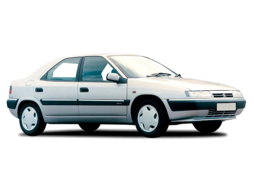 1993 Citroen Xantia as designed.