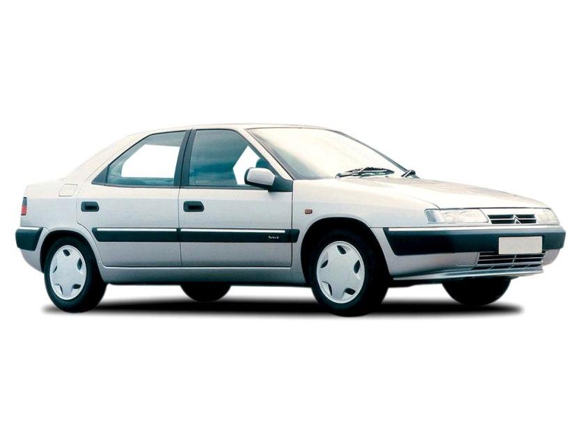 1993 Citroen Xantia as designed.