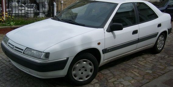1993 Citroen Xantai revised.