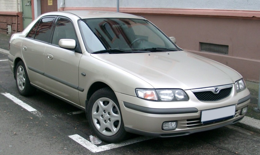 1997 Mazda 626: image from Wikipedia