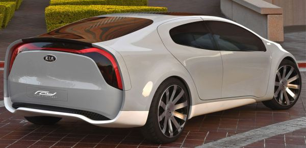 2010 Kia PHEW Ray concept car.