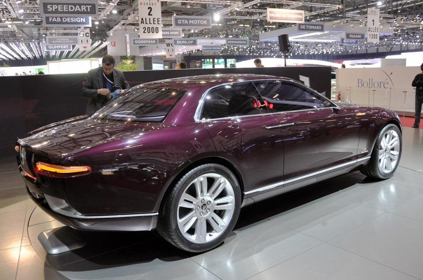 2011 Jaguar B99 concept.