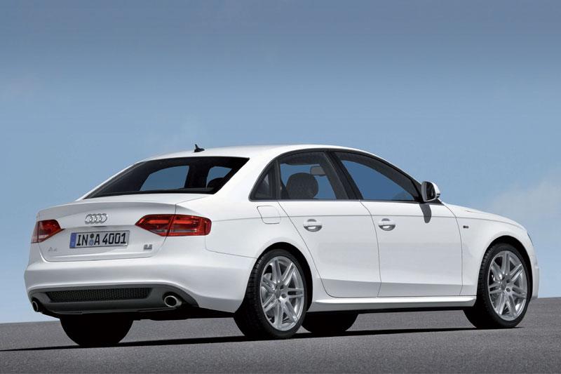 2008 Audi A4: a bit bigger