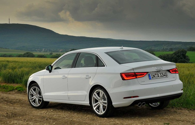 2013 Audi A3 saloon: measurably different.