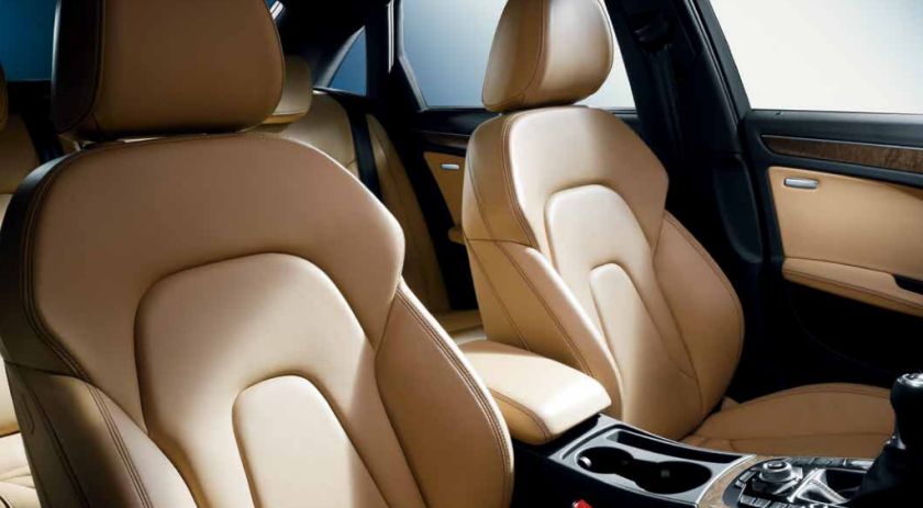 2015 Audi A4 interior (not the base model). This is the kind of warm interior Rover and Lancia used to specialise in.