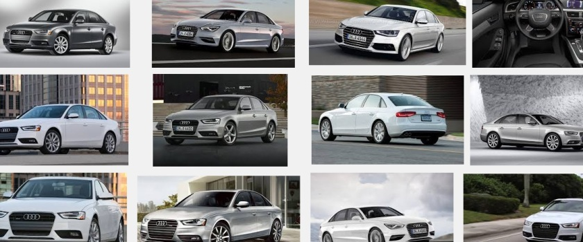 It´s no coincidence a Google search of an Audi A4 throws up cars with this range of colours.