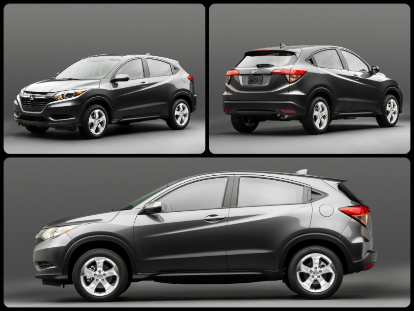 2015 HR-V photo via carsreleased.com