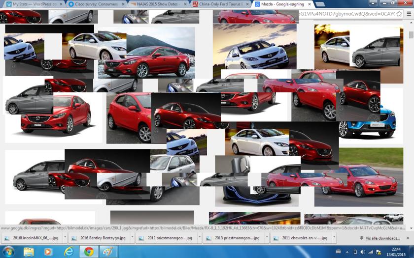 2015 Mazda montage