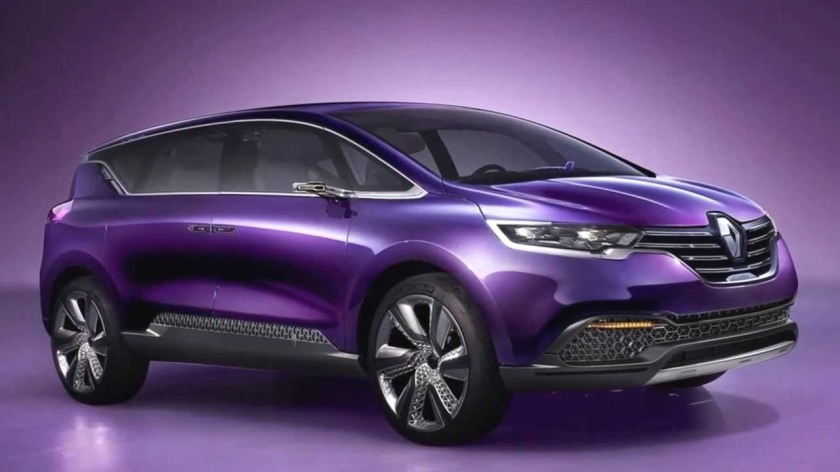 Nobody will be able to buy it in this colour so why do they show the car covered in paint of this hue? 2014 Renault Espace concept car