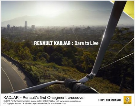 2016 Renault Kadjar advert