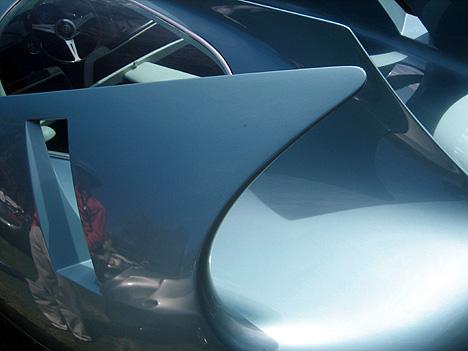 BAT 7's voluptuous rear wings - photo via lacar