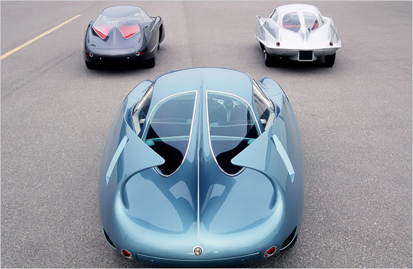 The three BAT cars - photo via carnewscafe