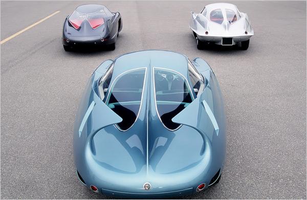 The three BAT cars - photo via carnewscafe