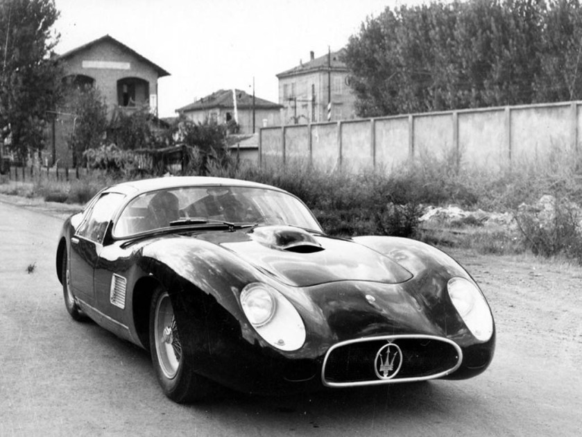 Frank Costin's Maserati 450S - body mucked about by Zagato