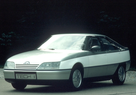 1980 Opel Tech 1 concept - photo via gmeuropearchive