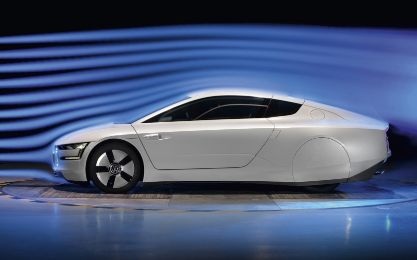 The future? Volkswagen-xl1-photo via motortrend