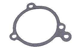 1975 Ford Granada water pump gasket. This hasn´t failed so far. That´s a tribute to the Grannie´s engineering.