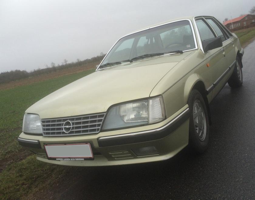 1984 Opel Senator 2.5E