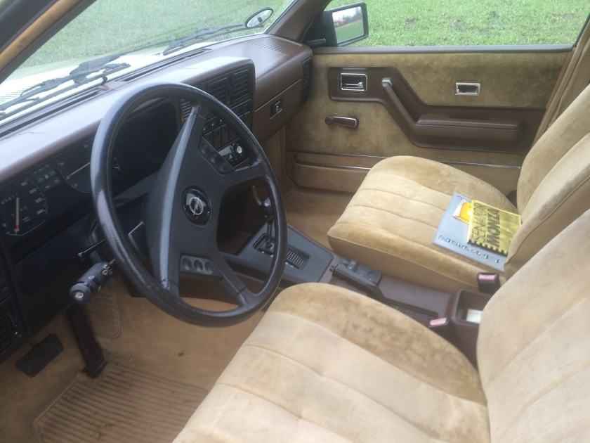 1984 Opel Senator interior front side