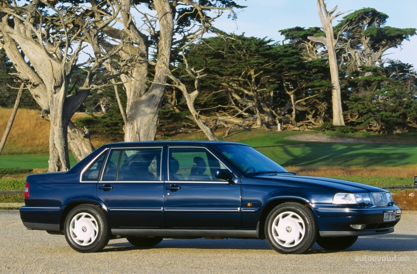The standard Volvo 960 from 1990.