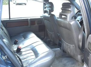 1991 Mystery Volvo 960 interior rear