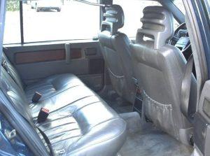 1991 Mystery Volvo 960 interior rear