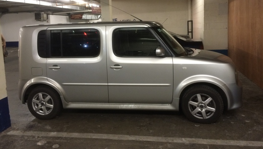 This is for carrying passengers: 2004 Nissan Cube