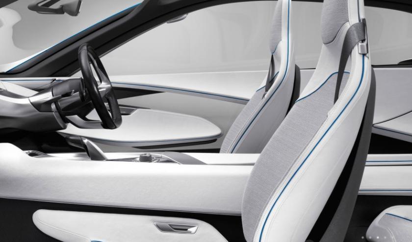 2009 BMW Efficient Dynamics car. Image from Kvadrat a/s, Denmark.
