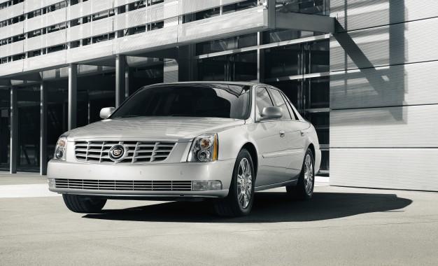 2011 Cadillac DTS: goodbye.
