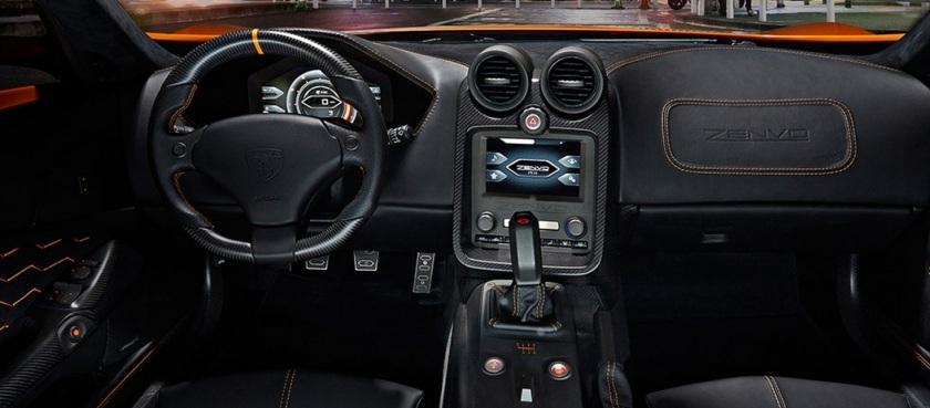 2015 Zenvo ST1 interior.
