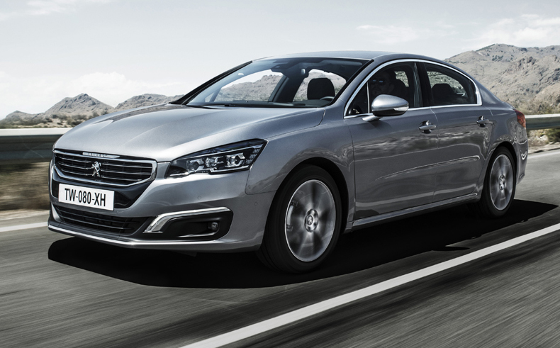 2015 Peugeot 508 - image via themotorreport