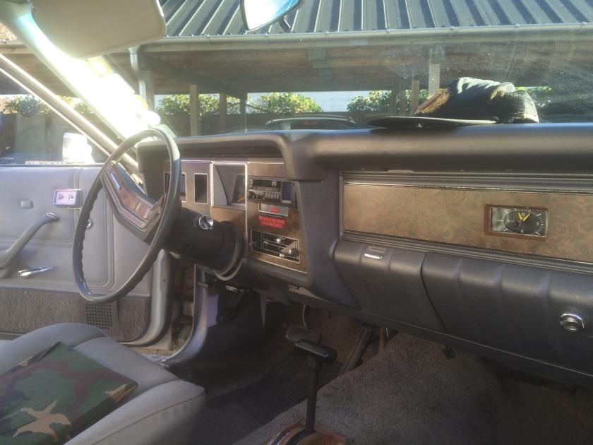 1980 Mercury Monarch interior.