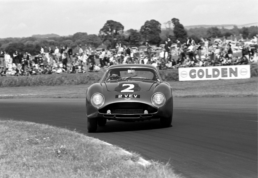 In My Dreams - Jim Clark showing how to drift.