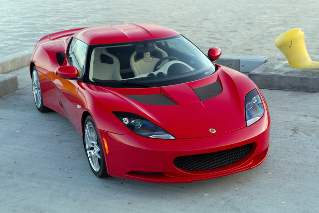Hideous isn't it? The Evora S