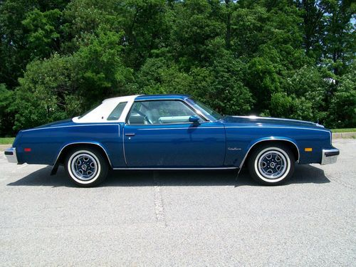 1976 Olds Cutlass Supreme: America´s best selling car that year. Isn´t it quite like the Ford Granada we looked at recently?