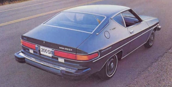 1978 Dastun 200SX. Image from www.productioncars.com