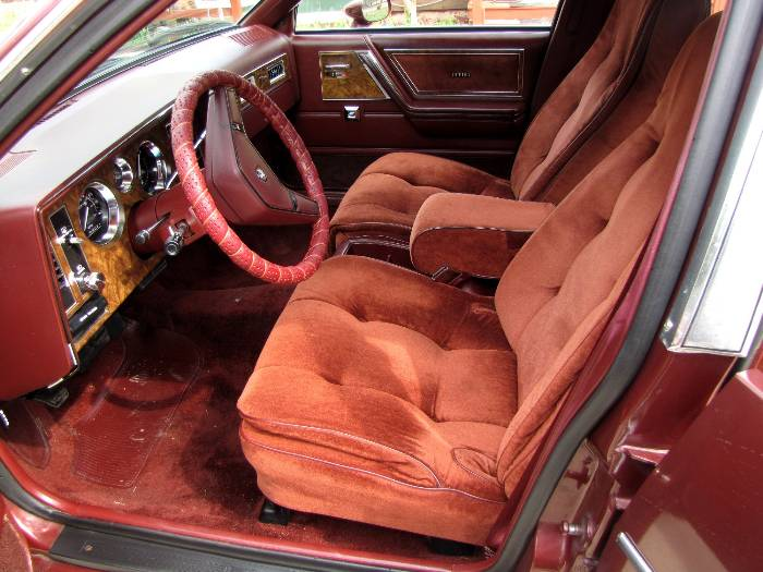 1982 Buick Skylark interior, the standard version. Image: RV Harvey.com