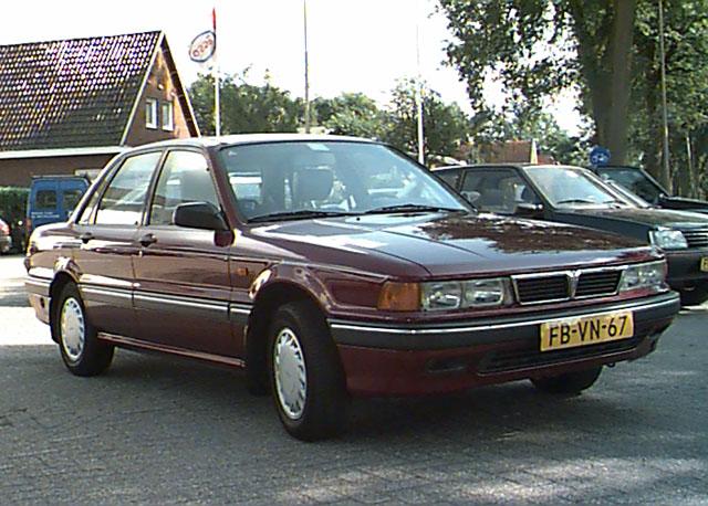 1989 Mitsubishi Galant 4wd 4ws