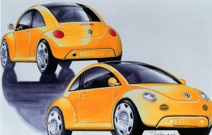 1994 VW Concept One.