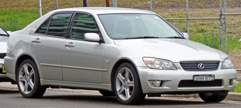 1999 Lexus IS 200 - from Wikipedia.