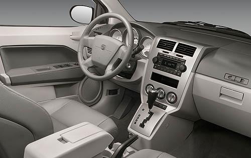 Good 2007 Dodge Calibre Interior. Image: Edmunds.com Pictures