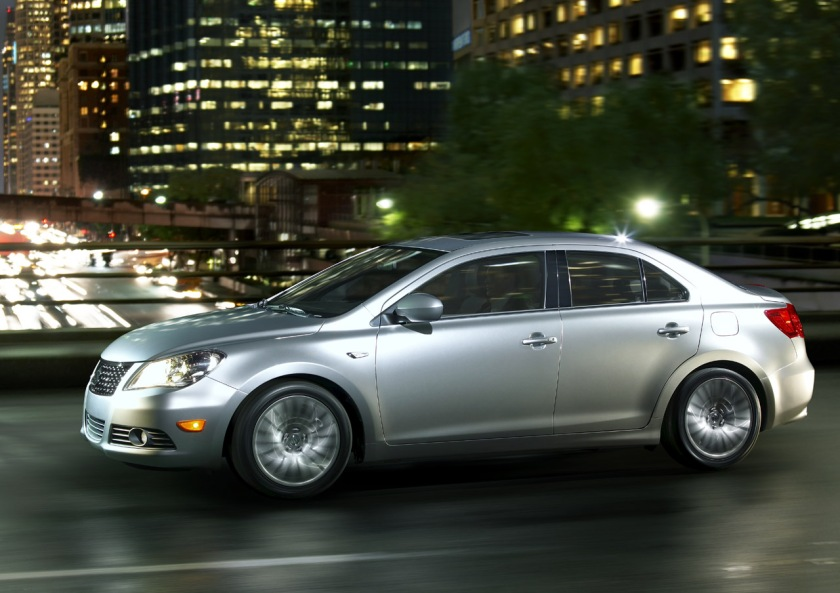 Suzuki Kizashi - big in, well nowhere actually - image via thetorquereport