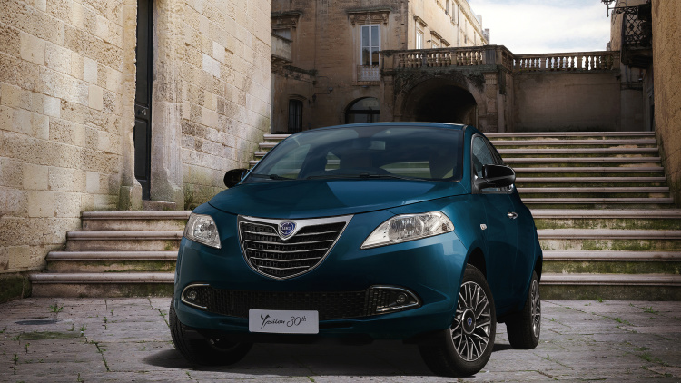 2015 Lancia Ypsilon Logan´s Run special edition.