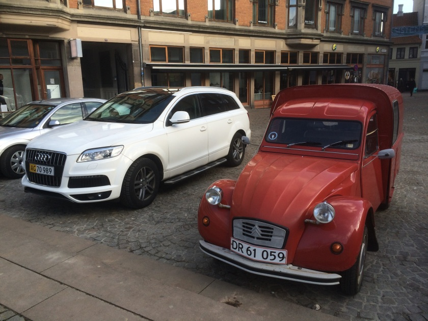 2015 Audi and 2CV