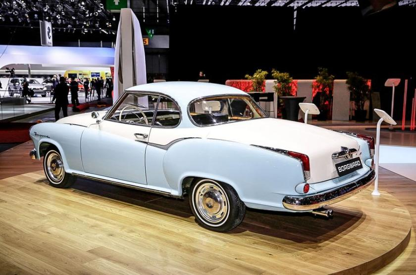2015 Borgward show car place holder. Maybe this was meant for Retromobile.