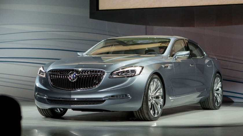 2015 Buick Avenir - is this the next Opel Senator? Image from yahoo.auto.com
