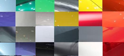 Geneva Motor Show colour palette 2015