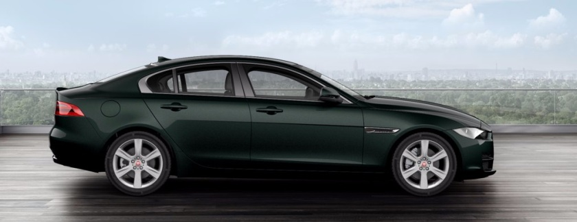 2015 Jaguar XE British Racing Green