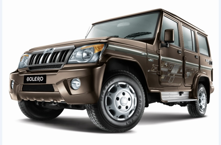 2015 Mahindar Bolero. Untouched by a designer´s hand.
